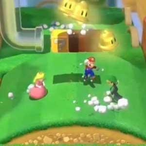 Super Mario 3D World Nintendo Wii U Crouch Jump