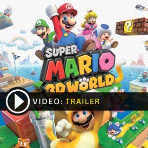Comprar codigo download Super Mario 3D World Nintendo Wii U Comparar Precos