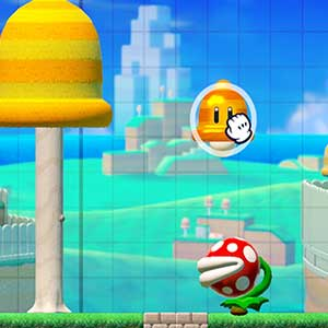 Super Mario Maker 2 colocando objectos