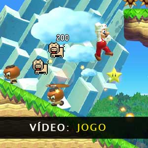 Vídeo da jogabilidade do Super Mario Maker 2
