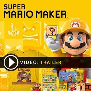 Comprar código download Super Mario Maker Nintendo Wii U Comparar Preços