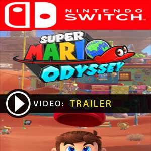 Super Mario Odyssey trailer vídeo