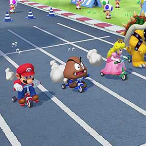 Super Mario Party Nintendo Switch Trike Race