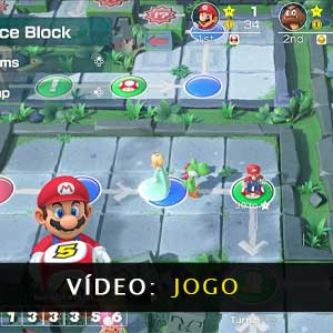 Super Mario Party Nintendo Switch Gameplay Video