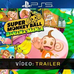 Super Monkey Ball Banana Mania PS5 Atrelado De Vídeo
