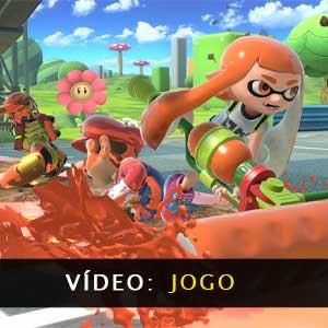 Super Smash Bros Ultimate Nintendo Switch vídeo de jogabilidade