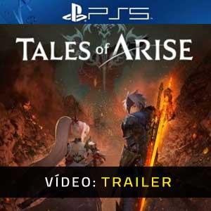 Tales of Arise PS5 Atrelado de vídeo