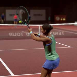 "Tennis World Tour 2 quadra de barro</span></noscript><img class=""lazyload"" src="