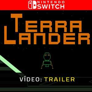 Terra Lander Nintendo Switch Atrelado de vídeo