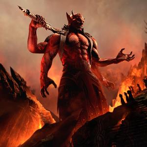 The Elder Scrolls Online Blackwood - Mehrunes Dagon