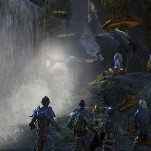 The Elder Scrolls Online Morrowind queda de água