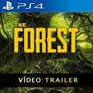 The Forest PS4 Atrelado de vídeo