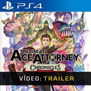 The Great Ace Attorney Chronicles PS4 Atrelado De Vídeo