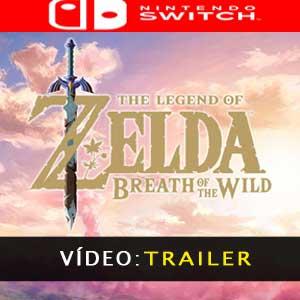 The Legend of Zelda Breath of the Wild Nintendo Switch - Atrelado de vídeo