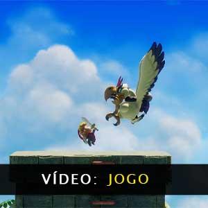 The Legend of Zelda Links Awakening vídeo de jogabilidade