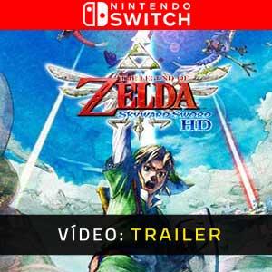 The Legend of Zelda Skyward Sword HD Nintendo Switch Atrelado De Vídeo
