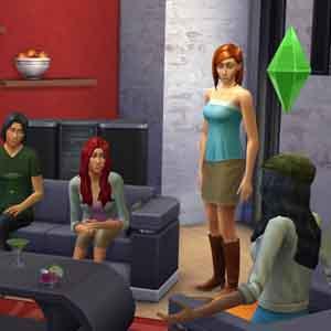 Sims 4 com amigos