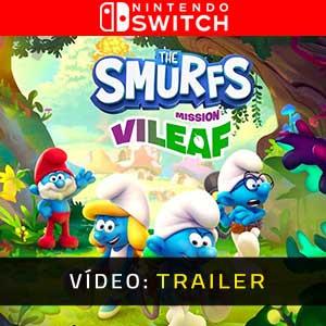 The Smurfs Mission Vileaf Nintendo Switch Atrelado De Vídeo