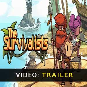 O vídeo do Trailer The Survivalists