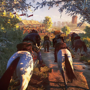The Witcher 3 Wild Hunt PS4 Transport Horse