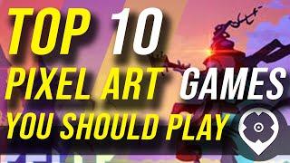 Top 10 Pixel Art Jogos