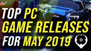 Principais Lançamentos de Jogos Para PC Para Maio de 2019