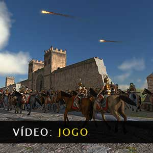 Total War ROME REMASTERED Vídeo de jogabilidade