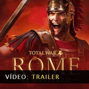 Total War ROME REMASTERED Vídeo do atrelado