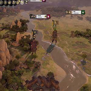 Total War THREE KINGDOMS Fates Divided Personagens