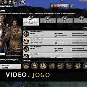 Total War THREE KINGDOMS Fates Divided Vídeo de jogabilidade