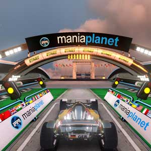 TrackMania 2 Stadium - Starting Line