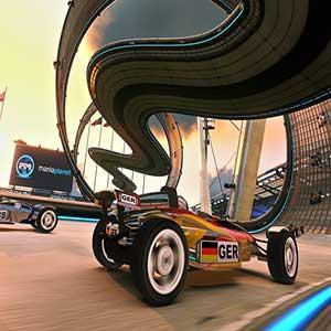 TrackMania 2 Stadium - Brazil Race Car