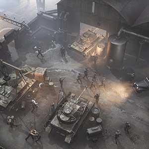 War Mongrels Fábrica De Tanques