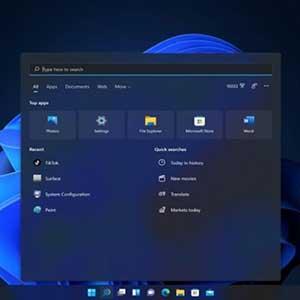Windows 11 Pro OEM Menu Iniciar