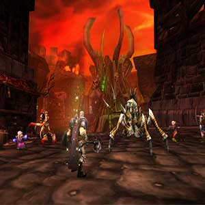 World of Warcraft Classic batalha