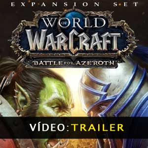 WoW Battle for Azeroth Expansion vídeo do trailer