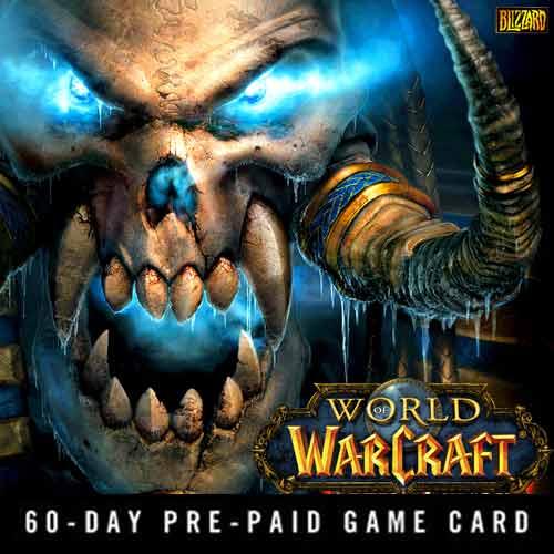 Comprar World Of Warcraft 60 Dias GameCard Code Comparar Preços