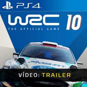 WRC 10 FIA World Rally Championship PS4 Atrelado De Vídeo