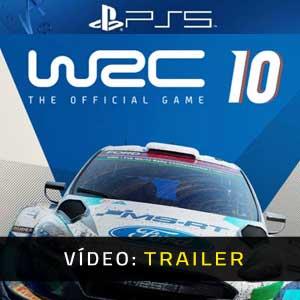 WRC 10 FIA World Rally Championship PS5 Atrelado De Vídeo