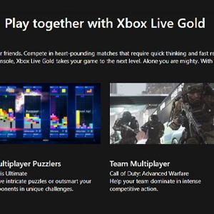 Xbox Live Gold Membership 12 Months Subscription Jogar em conjunto