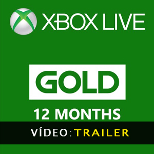 Xbox Live Gold Membership 12 Months Subscription Atrelado